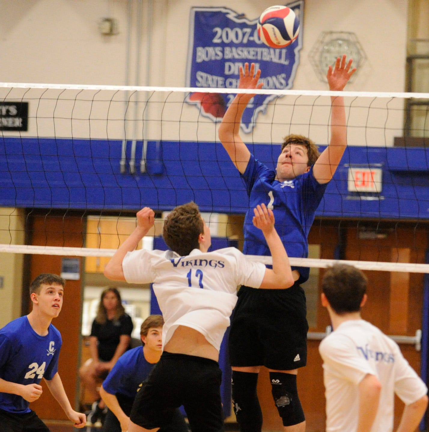 HS BOYS VOLLEYBALL: Chillicothe closes out regular season with 3-0 win over Miamisburg