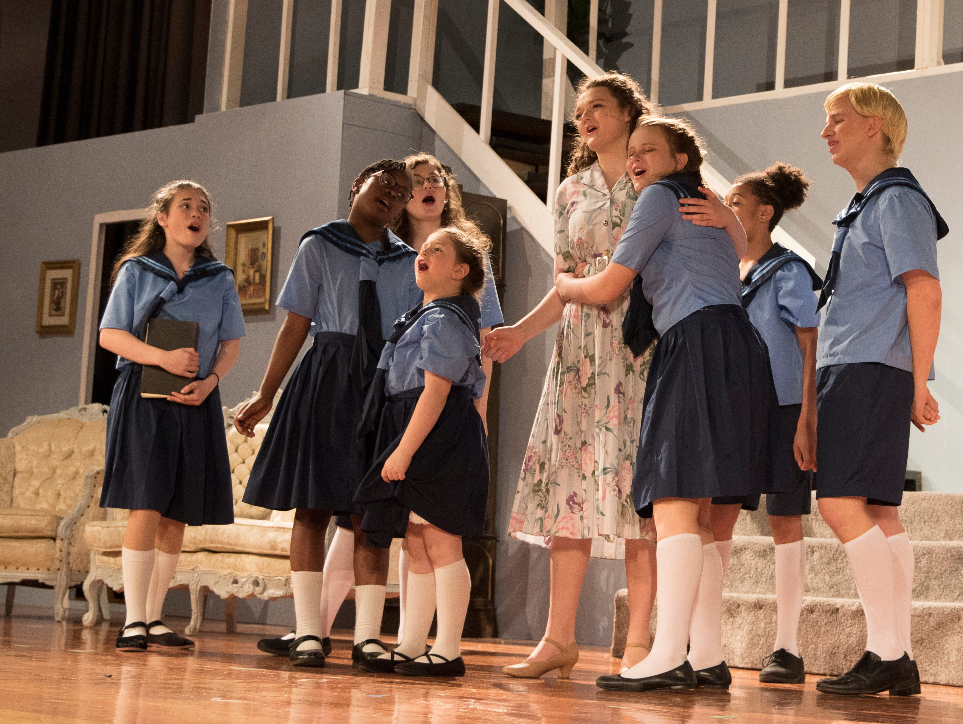 "Based on true events, the ""Sound of Music"" tells how Maria von Trapp started as governess for the Trapp children and would go on to marry their father Captain Georg von Trapp then create the famous singing group Trapp Family Singers."