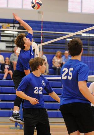 Chillicothe High School boys volleyball concluded its 2019 season with a 3-1 district final loss to Chaminade Julienne on Tuesday.