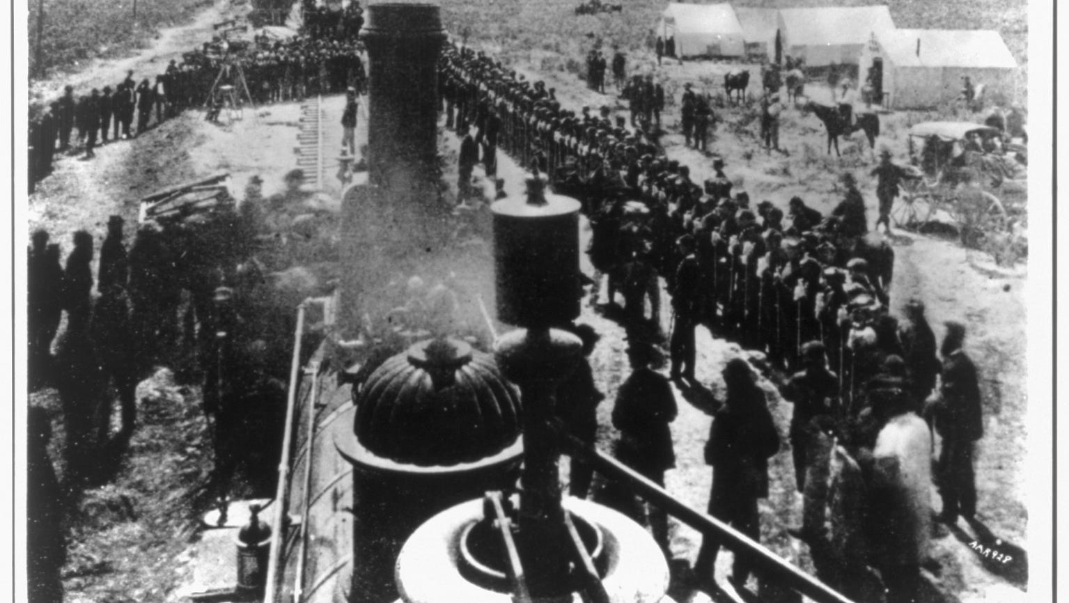 Today in History, May 10: Golden spike marked completion of transcontinental railroad