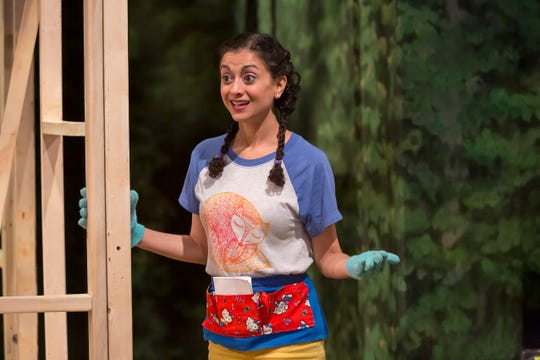 """Nandita Shenoy plays an oddball YouTube star named Jevne in the Playhouse in the Park's co-production of Chelsea Marcantel's """"Tiny Houses."""" The show runs through June 2."""
