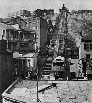 The Main Street Incline, also known as the Mount Auburn Incline, was the first of the city's five inclined-plane railways.