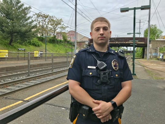Perth Amboy Police Officer Kyle Savoia will be honored by the 200 Club of Middlesex County for rescuing a man spotted on the tracks.
