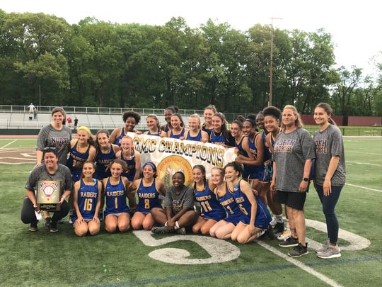 The second-seeded North Brunswick girls lacrosse team won its first GMC Tournament title since 2016 with a 10-6 win over No. 1 Old Bridge on Friday, May 10, 2019.