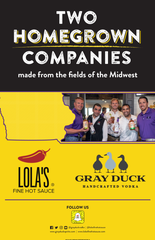 Chad Greenway's Gray Duck Vokda and Lola's Fine Hot Sauce have teamed up just in time for summer cocktail season.