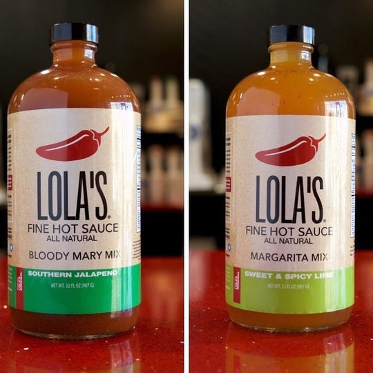 Lola's Fine Hot Sauce recently launched two new 'All Natural' cocktail mixes: Bloody Mary Mix - Southern Jalapeno and Margarita Mix - Sweet & Spicy Lime.