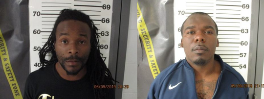 Nathaniel Gilmore, left, and Charles Curry