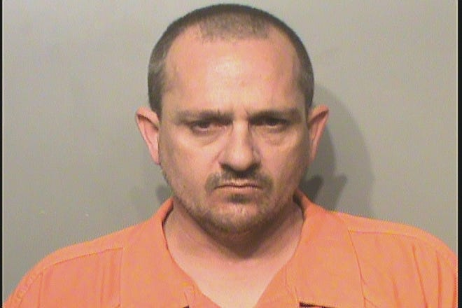 Jason Linn Adkins, 44, is charged on four counts of sexual abuse of minors.