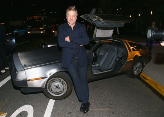"Alec Baldwin attends a reception for ""Framing John DeLorean"" featuring Alec Baldwin during the Tribeca Film Festival at RAND Luxury Escape, at the Arlo Hotel on April 30, 2019 in New York City."