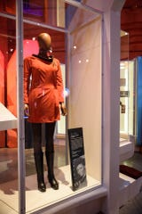 The uniform worn by Nichelle Nichols (Lieutenant Uhura) in the original 'Star Trek' series will be part of 'Star Trek: Exploring New Worlds,' an exhibit opening May 11, 2019 at Henry Ford Museum in Dearborn.
