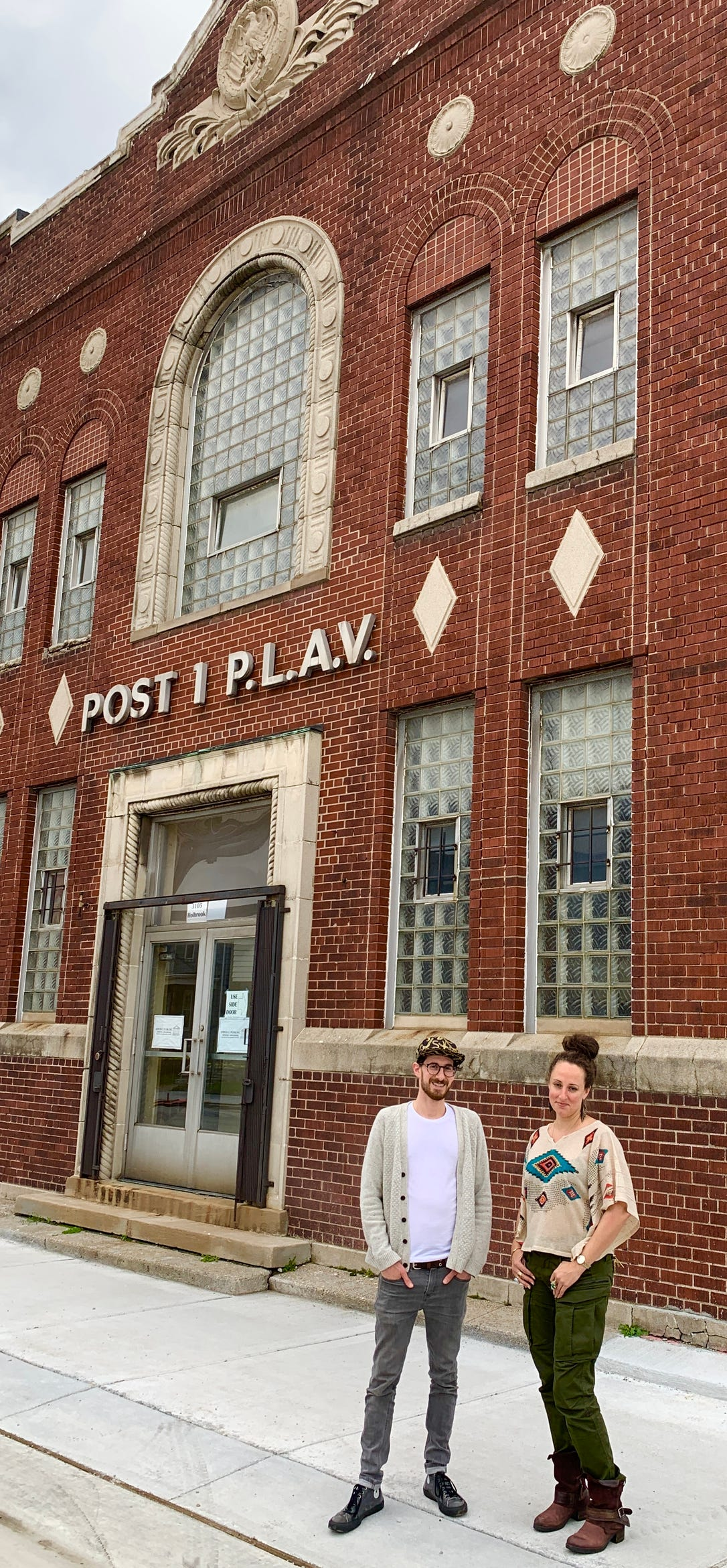 Josh Gardner and Lara Sfire are opening The Film Lab at 3105 Holbrook Avenue in Hamtramck, the former POST 1 P.L.A.V. building.