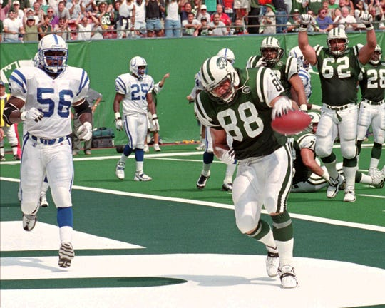 Kyle Brady was drafted by the Jets in 1995, but is probably best remembered as a Jaguars tight end.
