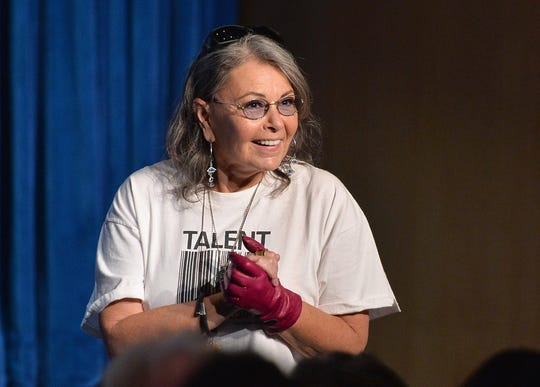 """A year after being thrown off ABC's revival of beloved sitcom """"Roseanne,"""" Roseanne Barr is taking her comedy out on the road."""