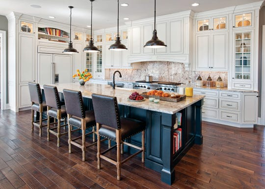 From pops of color to Wi-Fi-enabled appliances, explore what's trending in kitchens across the nation in 2019.