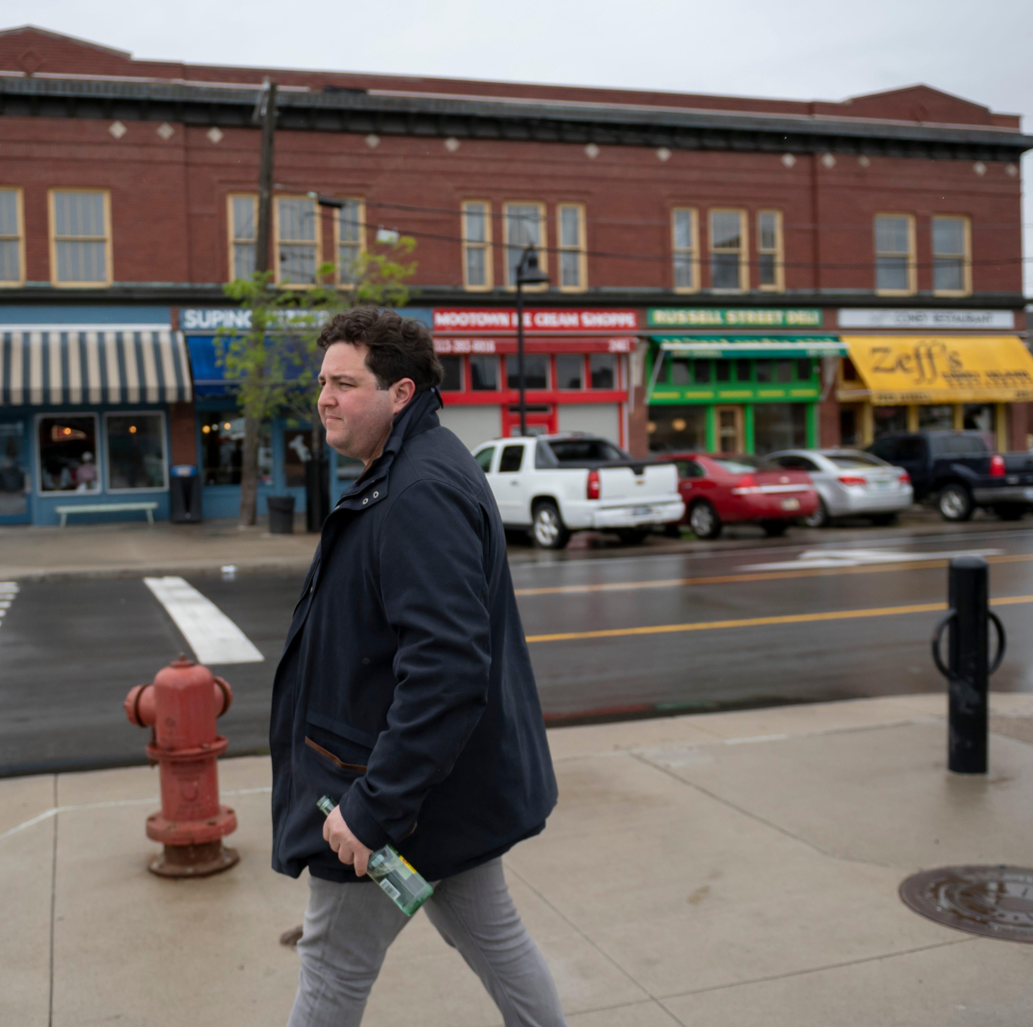 Eastern Market entrepreneur Sanford Nelson insists he's not area's villain