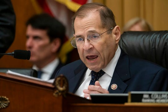 House Judiciary Committee Chair Jerrold Nadler, D-N.Y., directs a vote on Capitol Hill in this  Wednesday, May 8, 2019, file photo. Nadler says special counsel Robert Mueller won't appear before his panel next week, despite the committee's hope that Mueller would testify May 15.