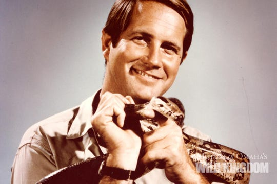 """Jim Fowler was a naturalist and wildlife expert, """"a true wildlife icon,"""" Mutual of Omaha's Wild Kingdom said Thursday."""