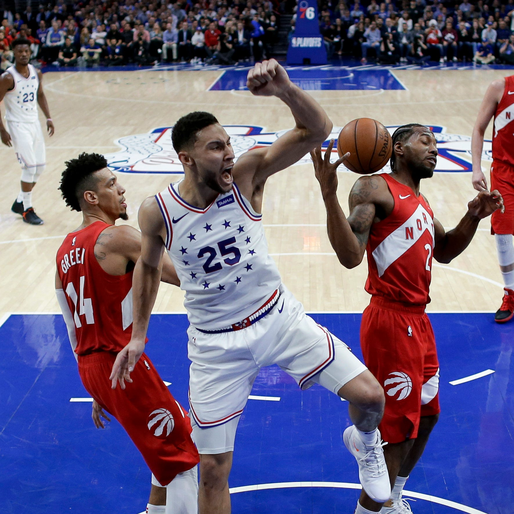 Thursday's NBA playoffs: 76ers, Trail Blazers force game 7s