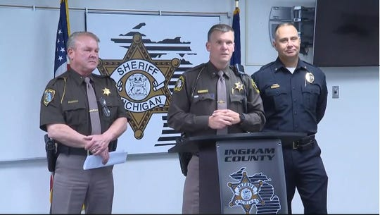 The Ingham County press conference was live streamed on Facebook by WILX News 10.