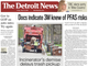 Front page of The Detroit News on Friday, May 10, 2019