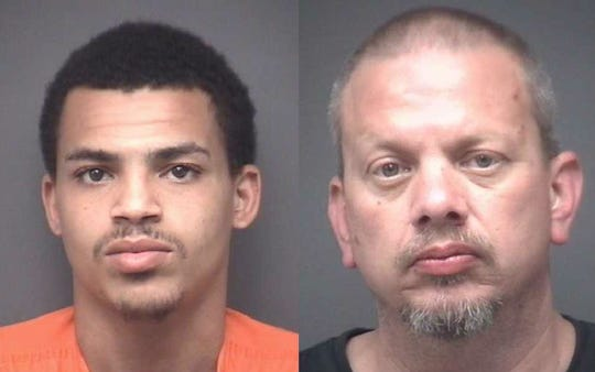 Anthony Wolfe and Brian Baumgartner were charged with murder in the death of Valarie Ruark in Warrick County.