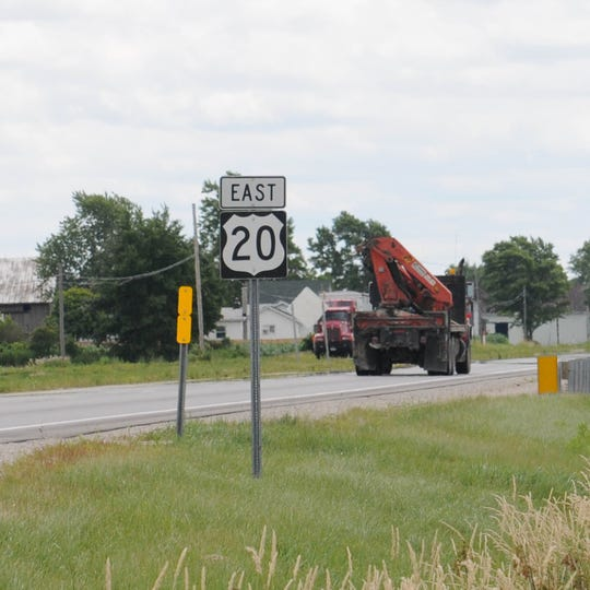 Expect lane restrictions from May 13 through July near the U.S. 20 and U.S. 6 bypass.