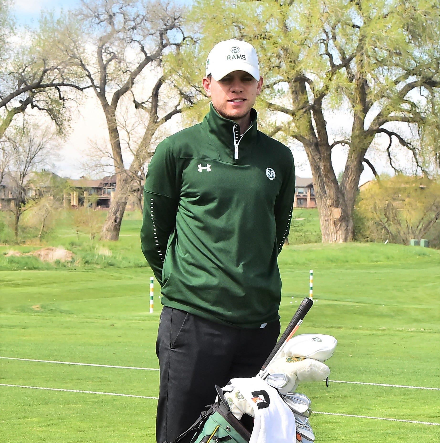 Fort Collins native A.J. Ott to carry CSU golf team's veteran memorial bag at NCAA Regional