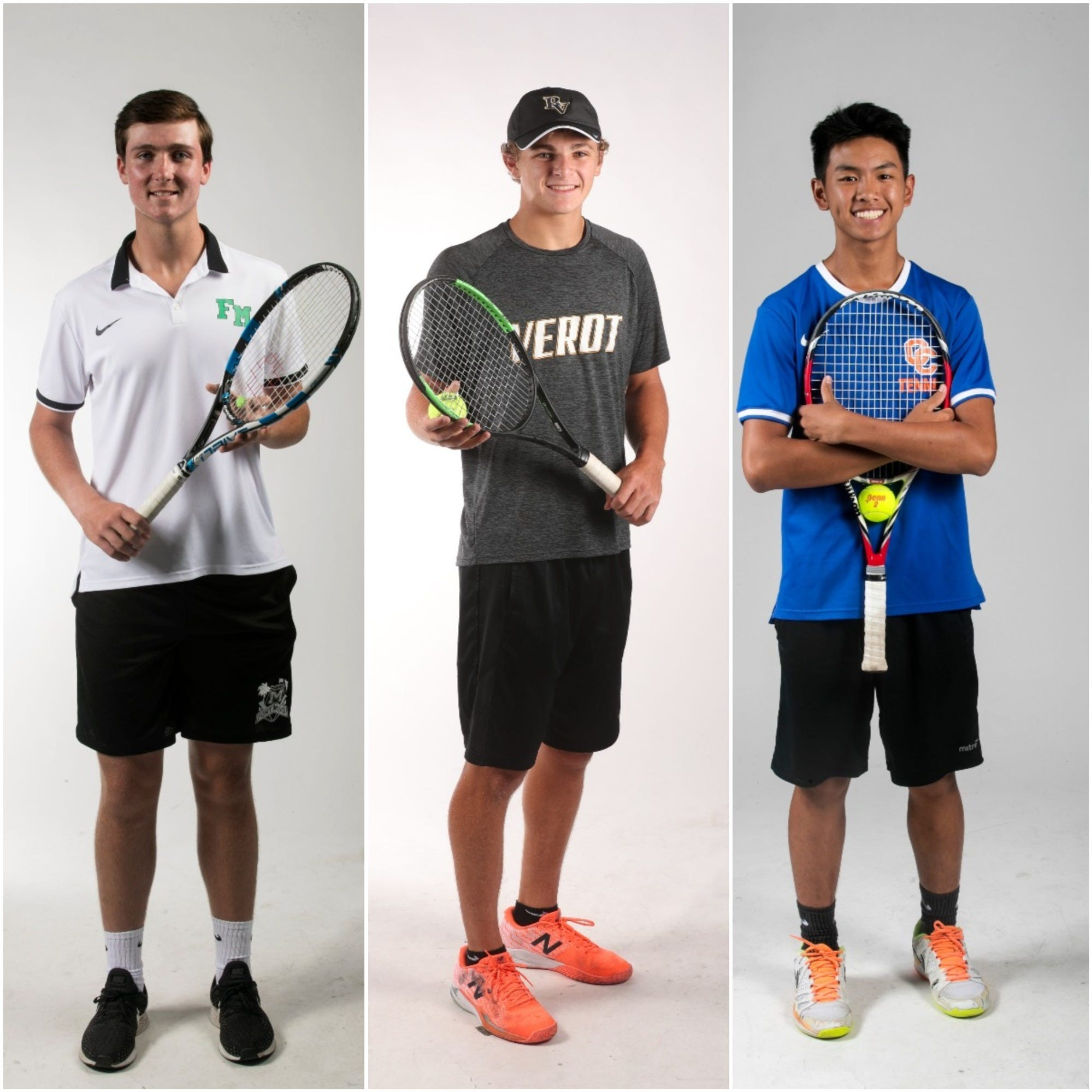 The News-Press 2019 All-Area Boys Tennis team