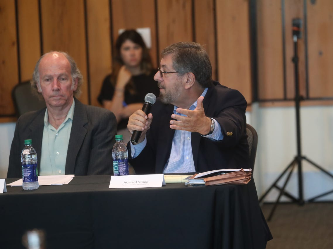 U.S. Rep. Francis Rooney headed a public meeting about water quality issues at the Conservancy of Southwest Florida in Naples on Friday May 10, 2019.