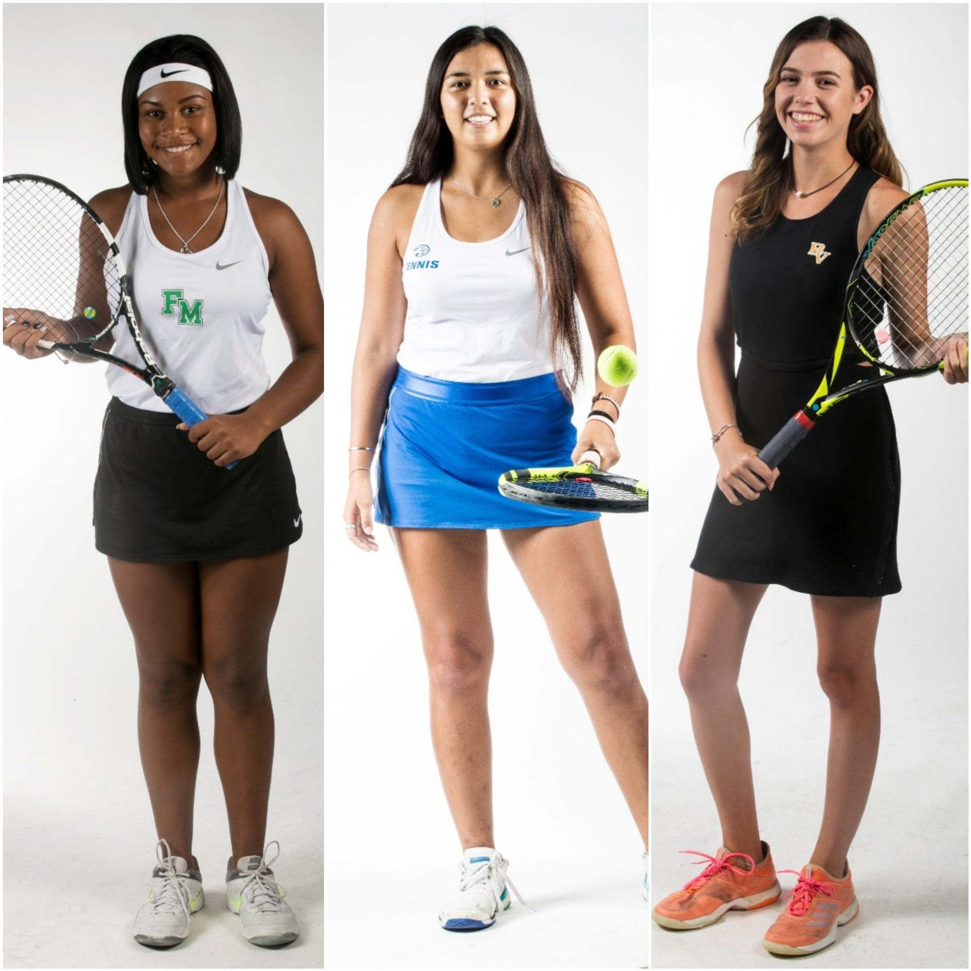 The News-Press 2019 All-Area Girls Tennis team
