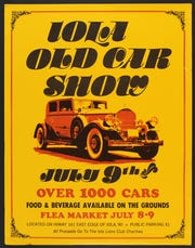 Previous Iola Car Show Posters show how much the event has grown over the decades.