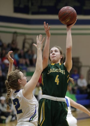 Ashwaubenon junior Lydia Schaible recently was offered a scholarship by Indiana State University.