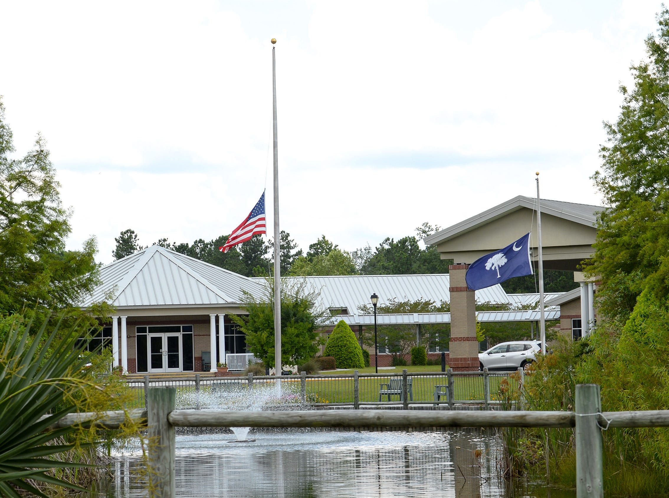 The Veterans' Victory House facility in Walterboro is a 220-bed nursing care operation.