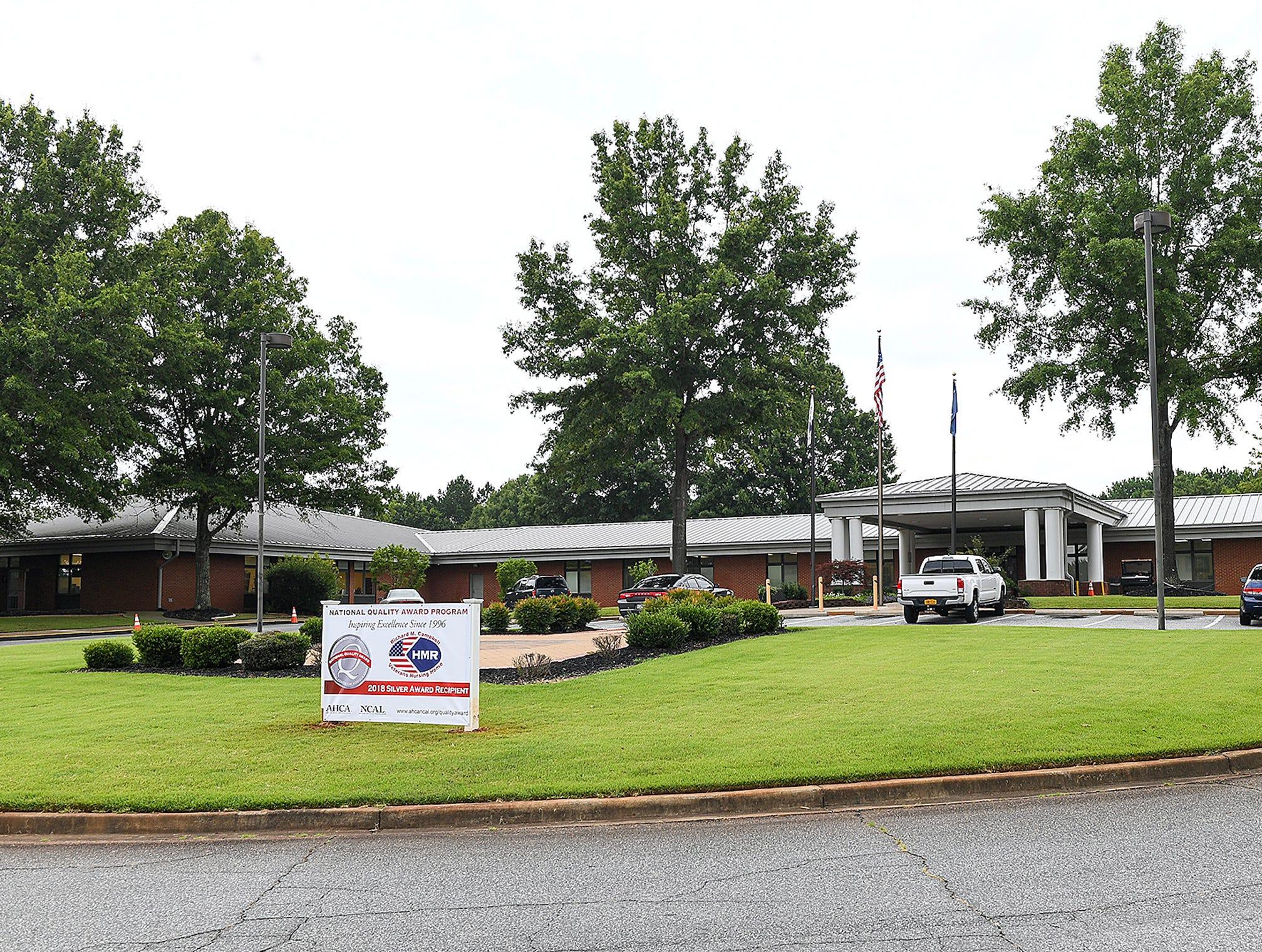 Richard M. Campbell Veterans Nursing Home in Anderson in 2018.
