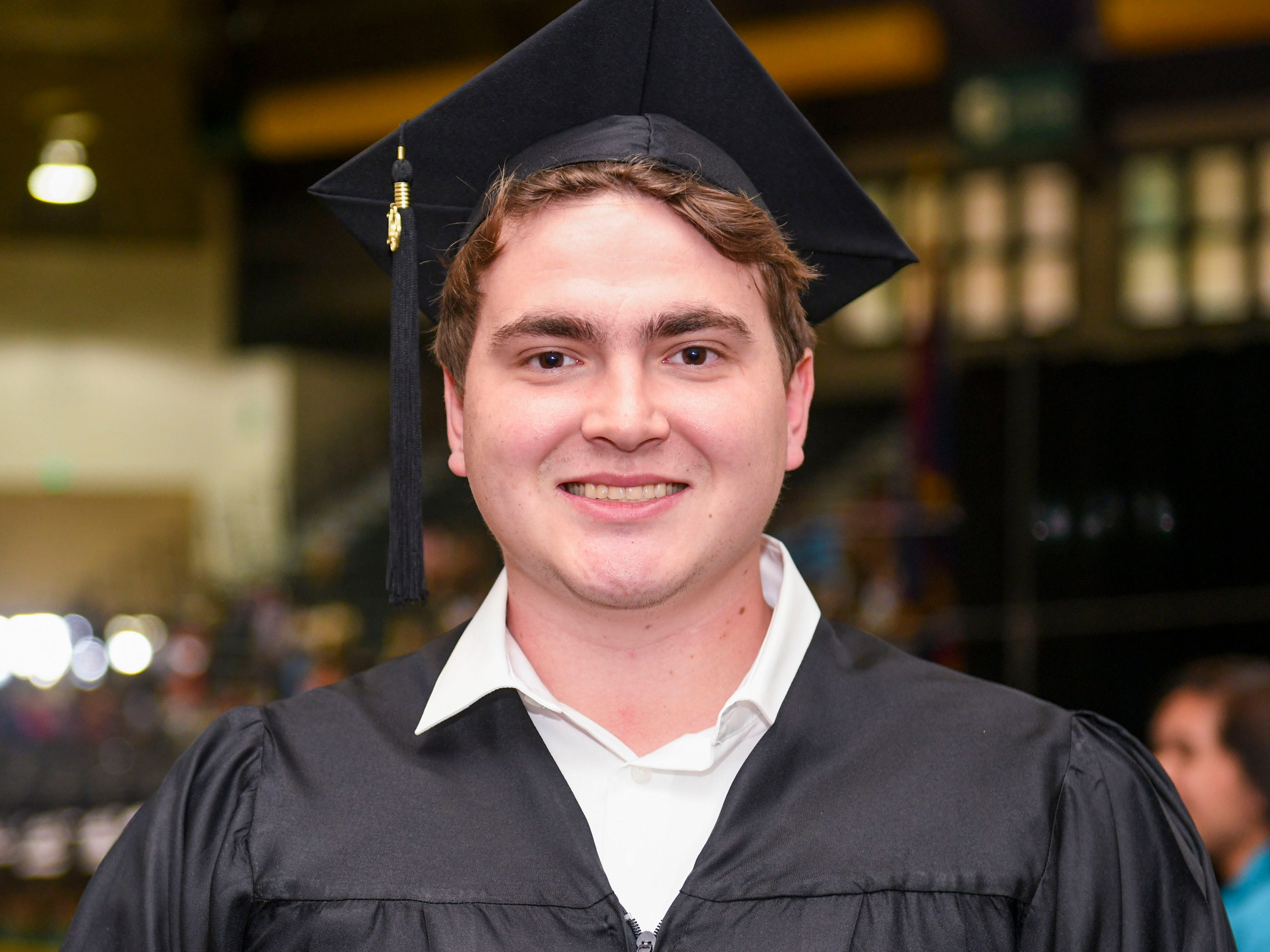 Ryan Boyd was recognized as Guam Community College's distinguished graduate during the institution's commencement exercise at the University of Guam in Mangilao on Friday, May 10, 2019. The college conferred a total of 435 degrees, certificates, and/or diplomas to 357 graduate celebrated at the ceremony, attended by hundreds of family members, friends and other well wishers.