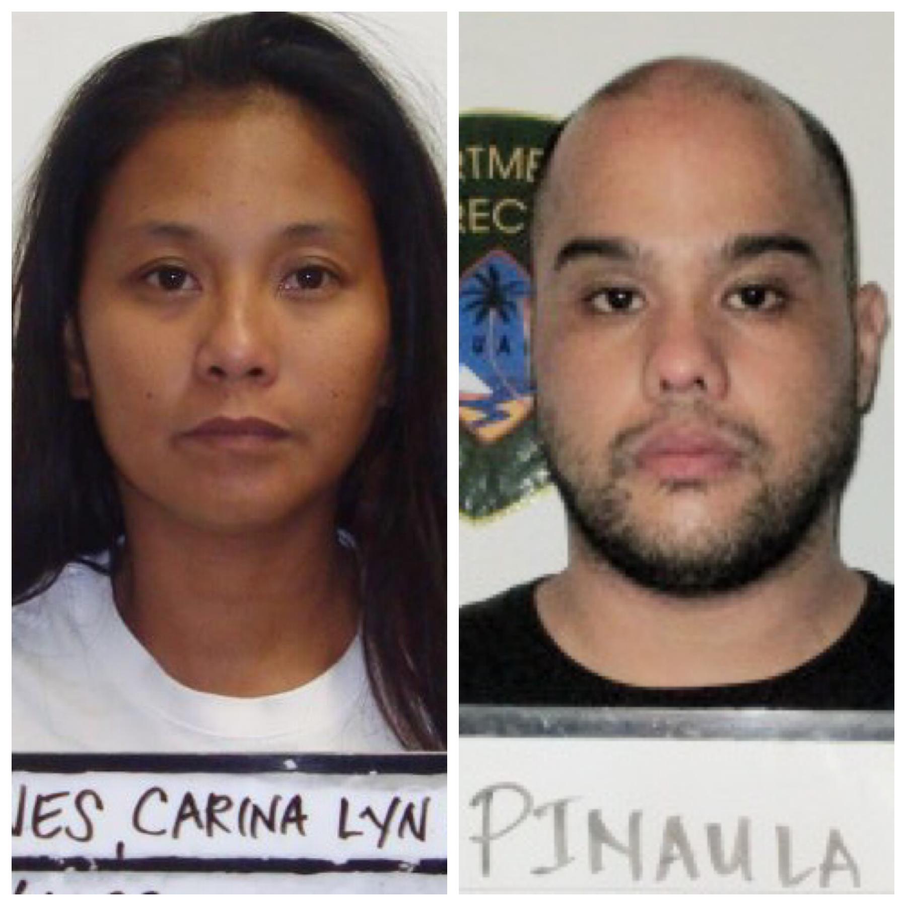 William Pinaula and Carina Lyn Cruz Barnes charged in credit card theft