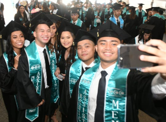 Guam Community College conferred 435 degrees, certificates and/or diplomas upon 357 graduates at the University of Guam Calvo Field House Friday. GCC's Most Distinguished Graduate was Jamie Lynn Freitas, who earned an associate of science in accounting.