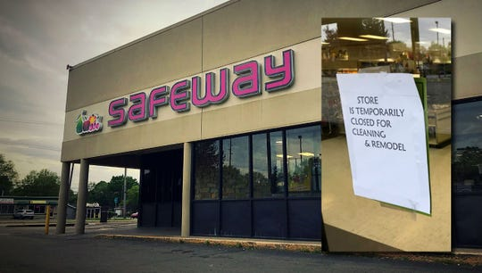 A Safeway at 3008 West Kessler Blvd. North Drive was closed temporarily due to health violations.
