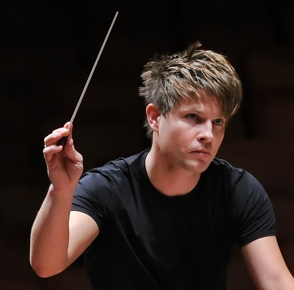 Indianapolis Symphony Orchestra music director Krzysztof Urbański will leave after 2021