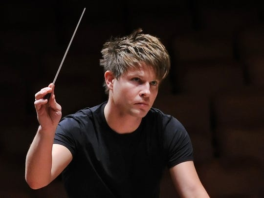 The Indianapolis Symphony Orchestra has announced Krzysztof Urbanski will leave after the 2020-2021 season.