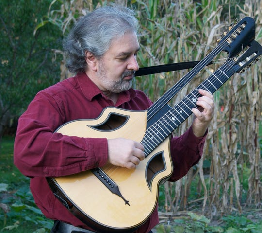 Oleg Timofeyev is one of the people keeping the Russian seven string guitar alive.
