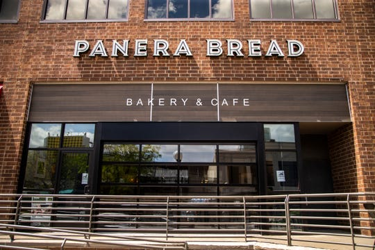 A new Panera Bread bakery and cafe location is pictured, Friday, May 10, 2019, along Clinton Street in Iowa City, Iowa.