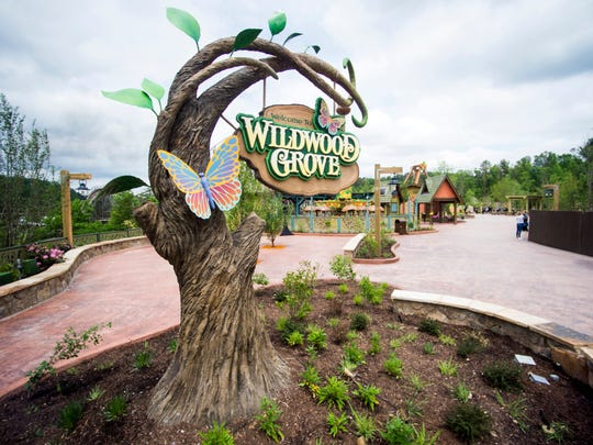 Inside Dollywood's new Wildwood Grove expansion on Friday, May 10, 2019.