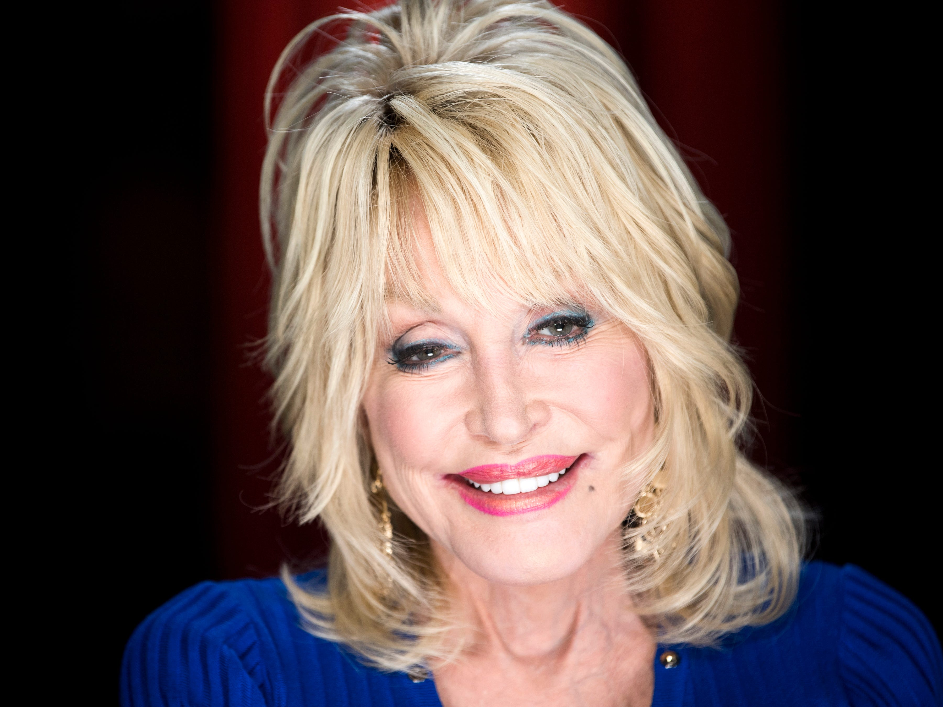 Dolly Parton speaks about the grand opening of Dollywood's new Wildwood Grove expansion on Friday, May 10, 2019.