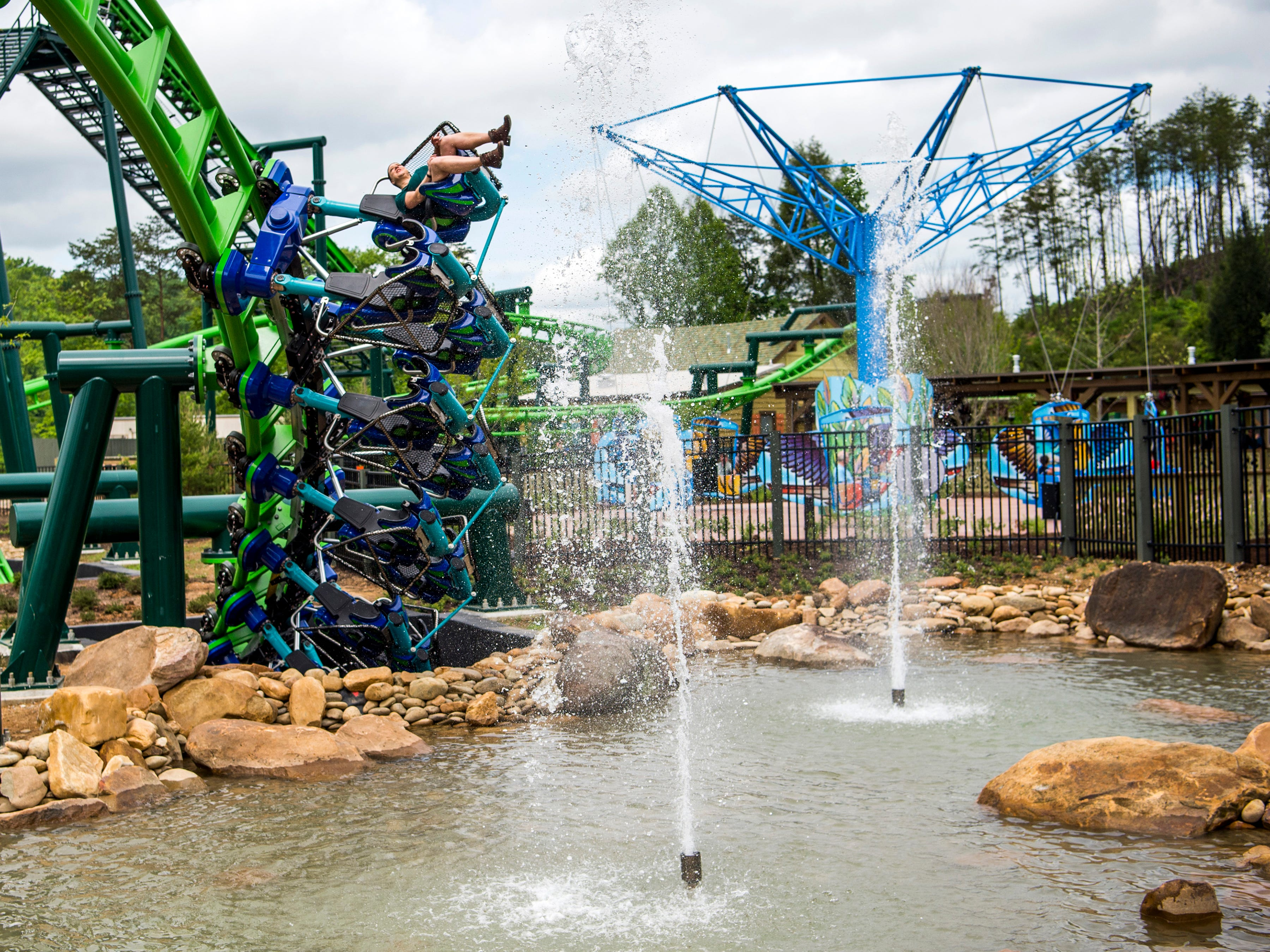 A view inside Dollywood's new Wildwood Grove expansion on Friday, May 10, 2019.