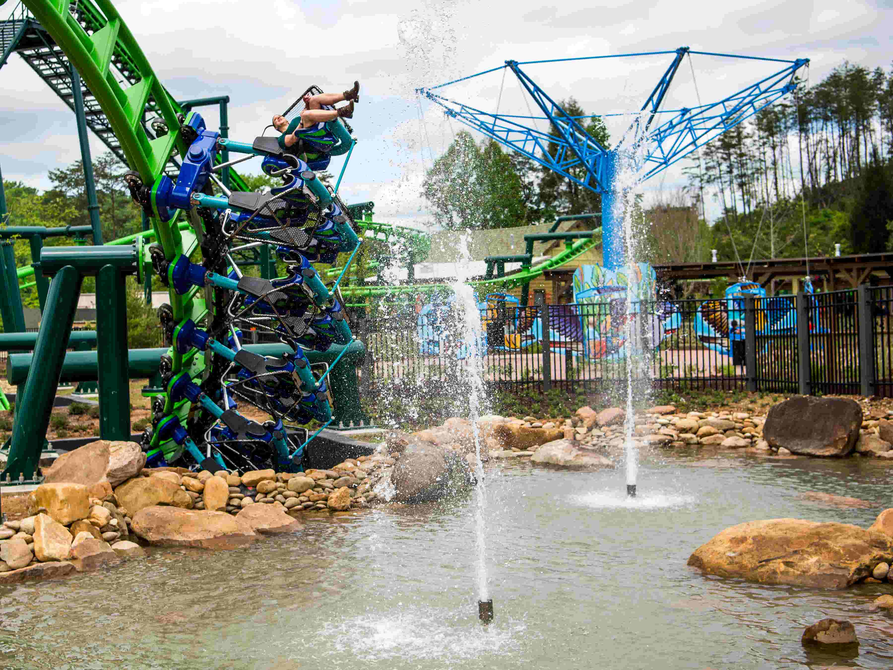 Take a look inside Dollywood's new Wildwood Grove expansion
