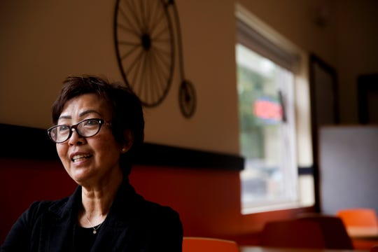 Tina Minjares, owner of Banh Mi by Greenleaf, 1201 4th st., talks about the restaurants opening, Friday, May 10, 2019, in Lafayette.