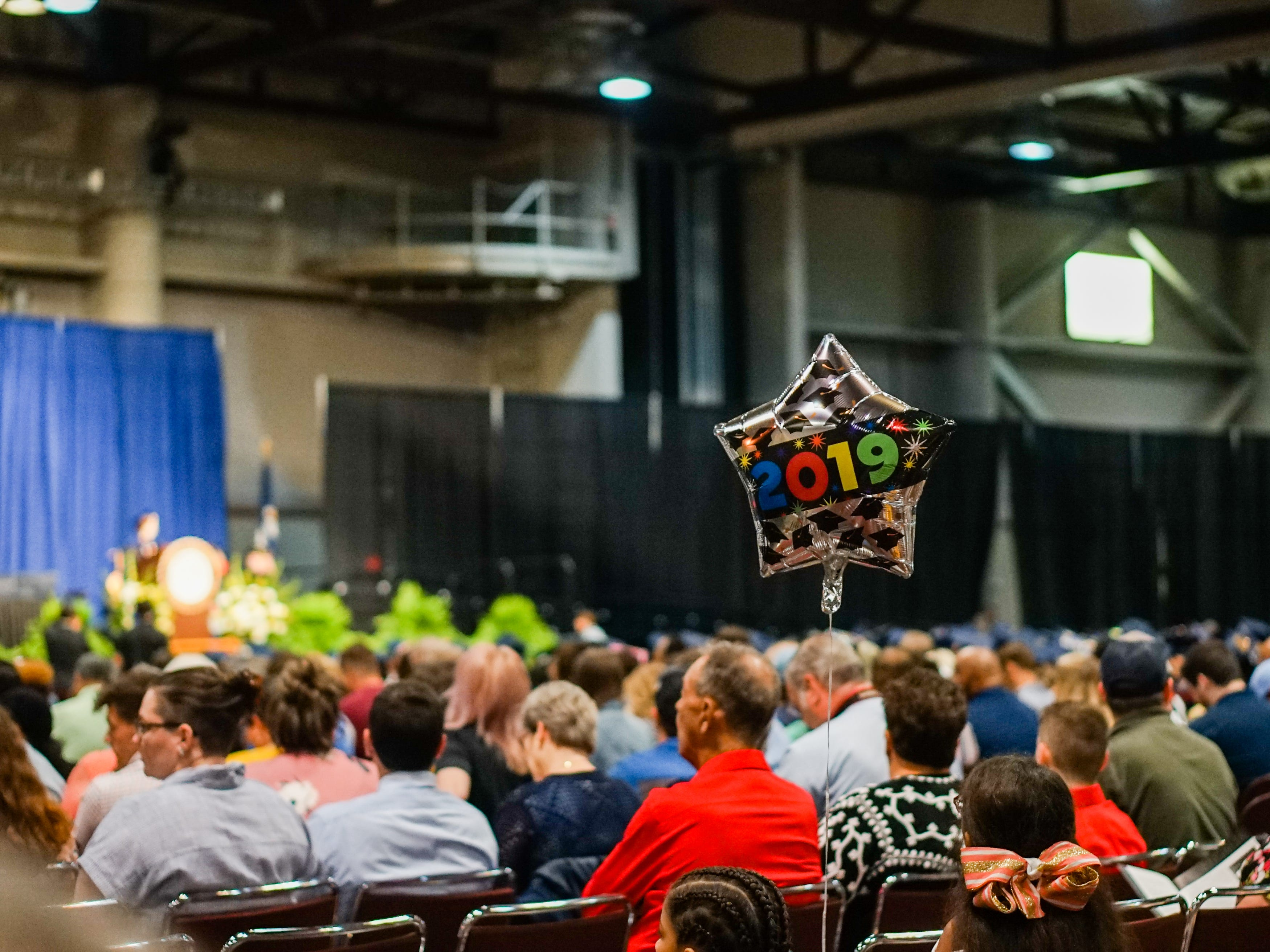 South Louisiana Community College holds its commencement ceremonies at the Cajundome in Lafayette Thursday, May 9, 2019.