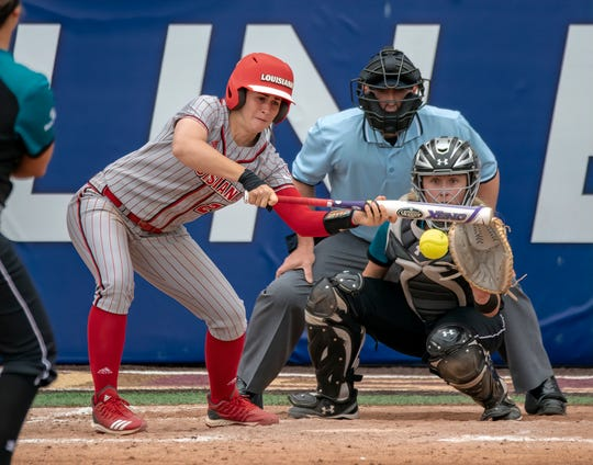 Ragin' Cajuns softball beat Coastal Carolina on Friday in the Sun Belt Conference Tournament to secure a spot in the championship game.