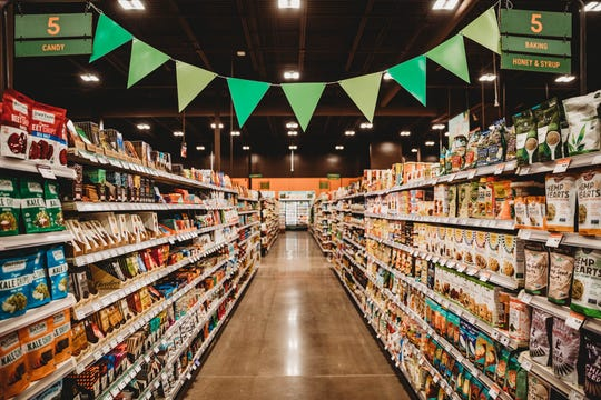 Natural Grocers boasts 100 % Organic produce and a giant line of natural goods